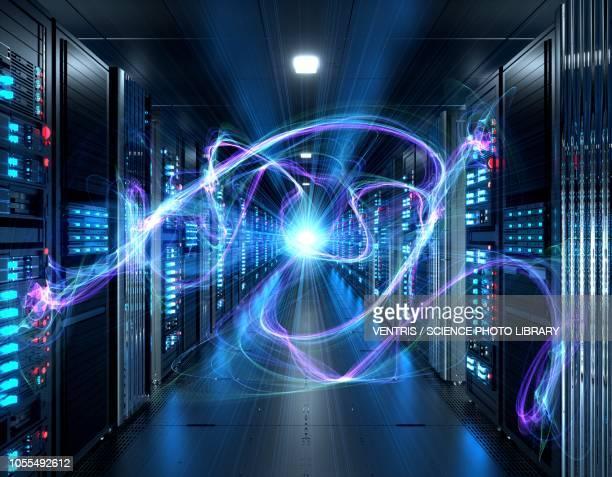 ilustraciones, imágenes clip art, dibujos animados e iconos de stock de server room, illustration - servidor de red