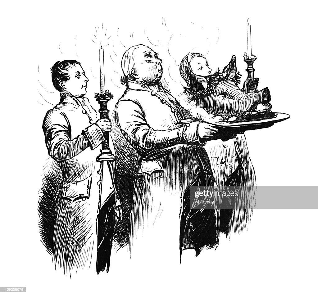 Serving The Boars Head Stock Illustration Getty Images