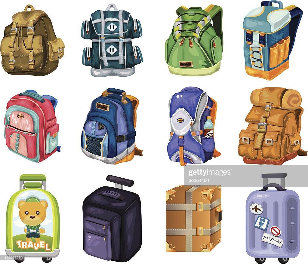 set of travel bag