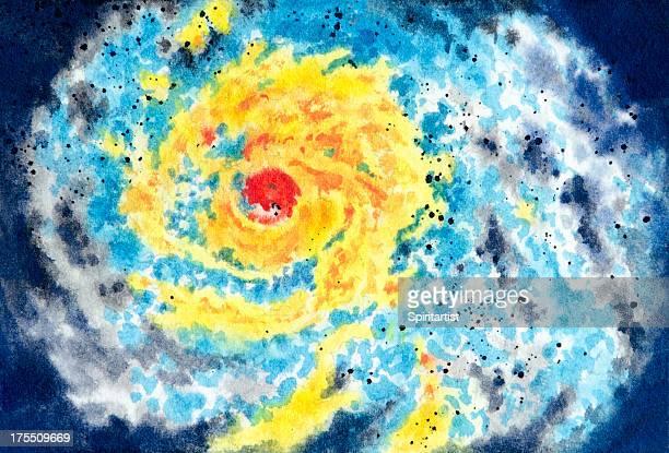 severe storm warning - hurricane stock illustrations, clip art, cartoons, & icons