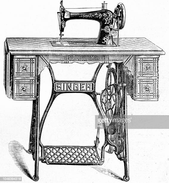 World's Best Sewing Machine Stock Illustrations - Getty Images