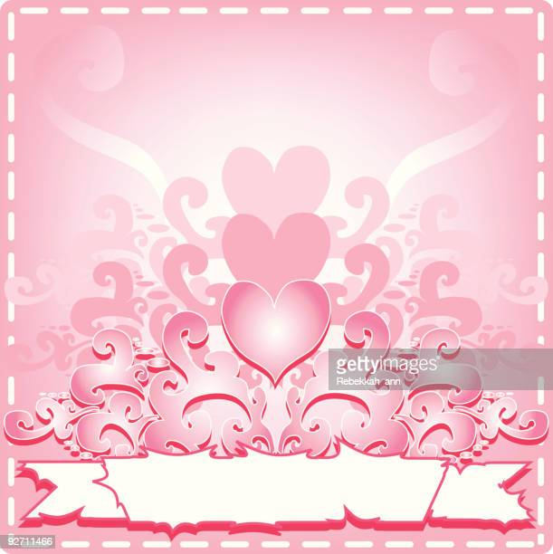 sexy love banner - animal heart stock illustrations, clip art, cartoons, & icons
