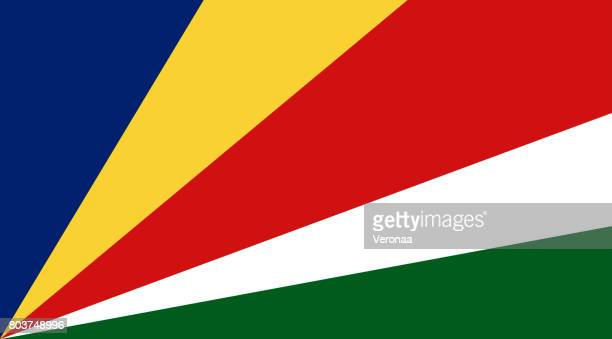 seychelles flag - historical document stock illustrations, clip art, cartoons, & icons