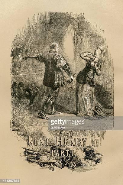 Shakespeare, King Henry VI, Engraving