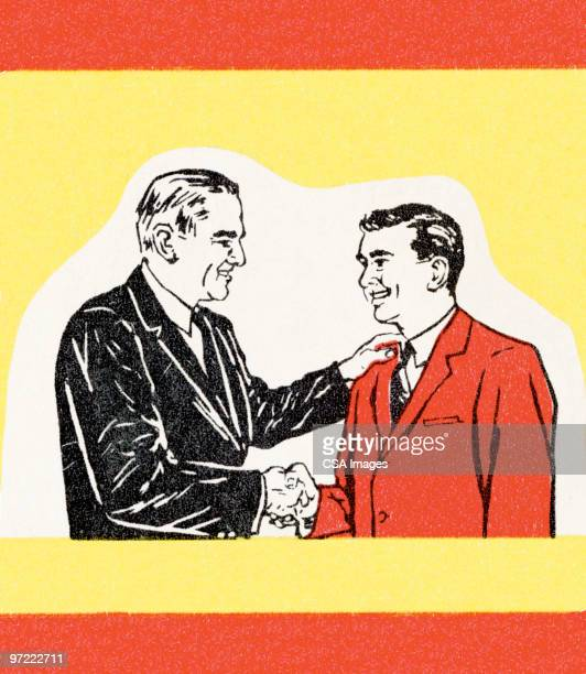 shaking hands - friendship stock illustrations