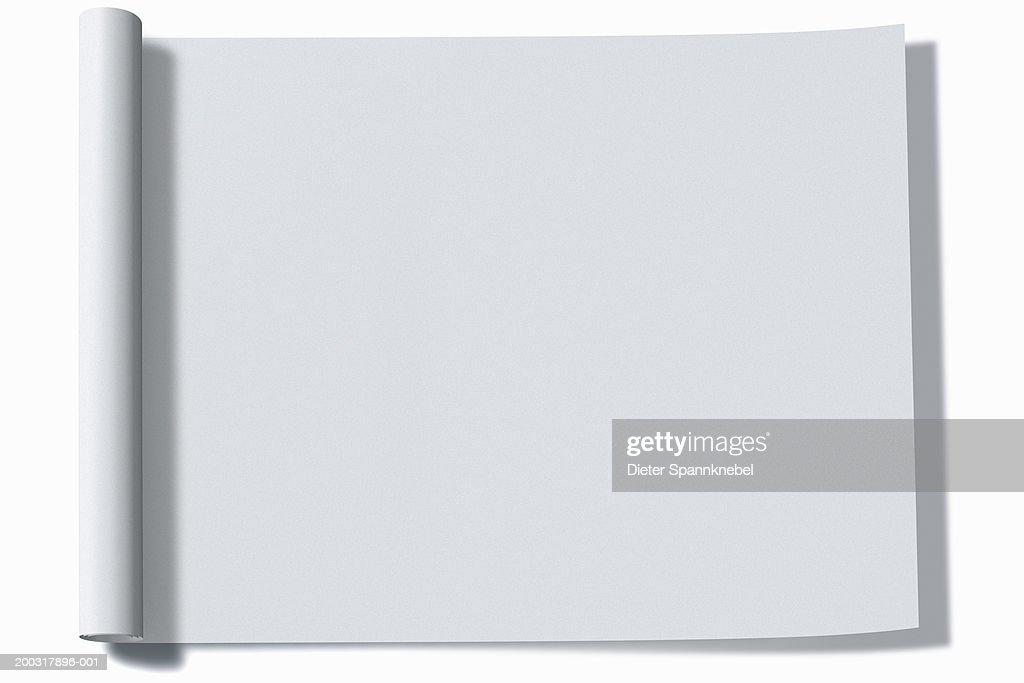 Sheet of paper (Digital) : stock illustration