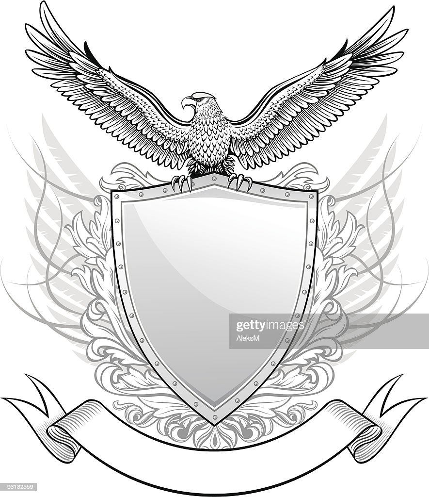 Shield with Eagle Insignia