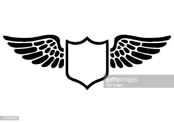 Shield With Wings