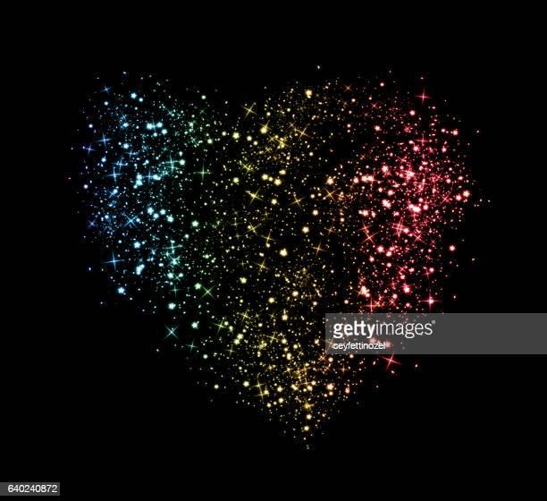 Shining Colorful Stars