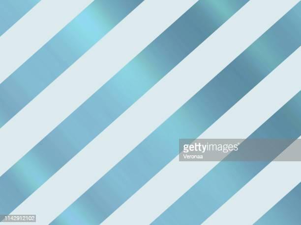 ilustraciones, imágenes clip art, dibujos animados e iconos de stock de patrón de líneas diagonales azul brillante y azul claro - papel de aluminio