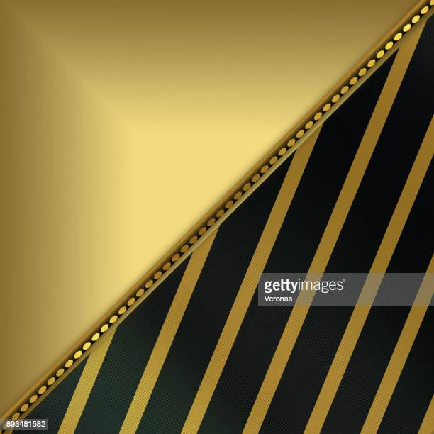 shiny golden and black background with diagonal lines and place for text - filigree stock illustrations