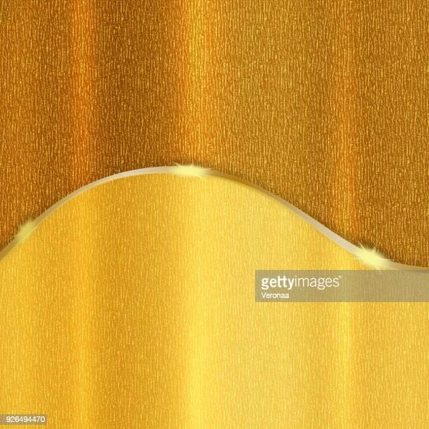 ilustraciones, imágenes clip art, dibujos animados e iconos de stock de fondo de vacaciones de dorado brillante - papel de aluminio