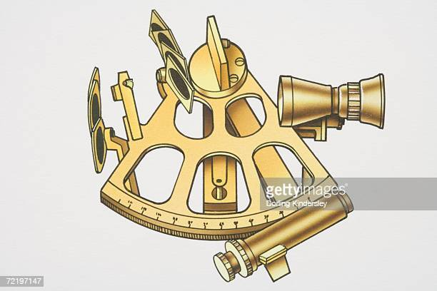 Ship's sextant.