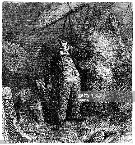 Shipwreck scene (1878 illustration)
