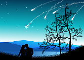 Shooting Star Gazing
