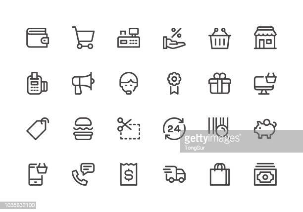 Shopping - Line Icons