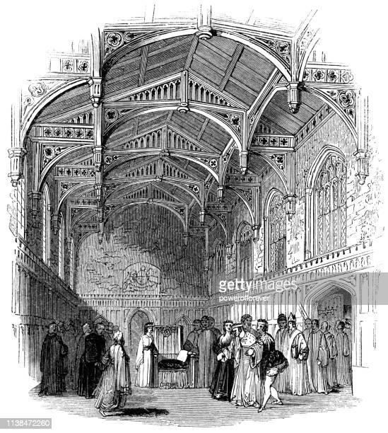 Sick Edward IV at Eltham Palace in London, England - Works of William Shakespeare