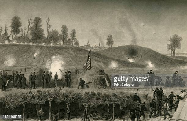 Siege of Vicksburg' After a siege lasting almost two months the fortress of Vicksburg Mississippi fell to the Union on 4 July 1863 It was a crucial...
