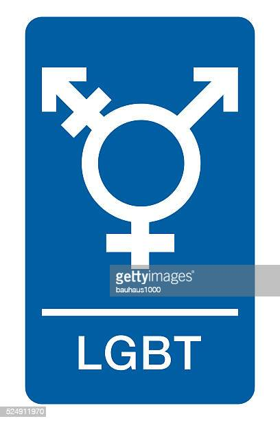 Sign for LGBT, Lesbian, Gay, Transgender and Bisexual