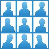 Silhouettes avatar