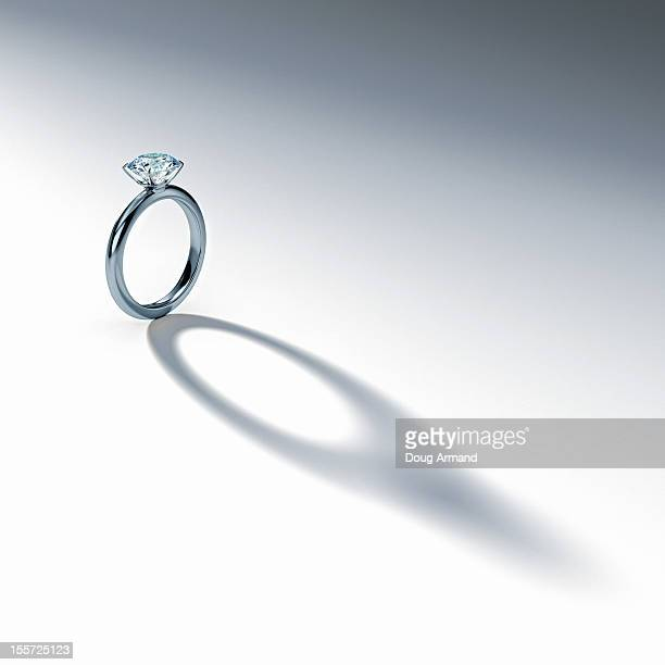 Diamond Ring Stock Illustrations And Cartoons