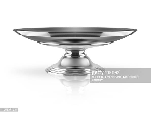 silver tray, illustration - 食器点のイラスト素材/クリップアート素材/マンガ素材/アイコン素材