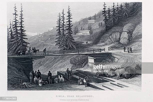 simla - historical document stock illustrations, clip art, cartoons, & icons