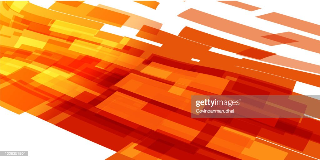 Simple Abstract Orange And Yellow Color Background High Res