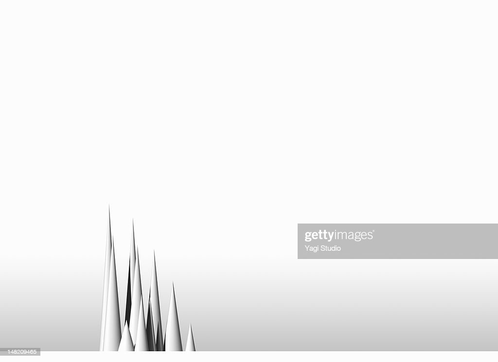 Simple composition with white background : stock illustration