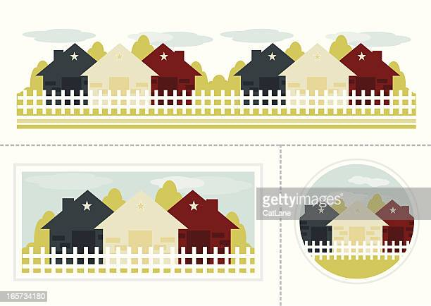 Simple Country Homes Set