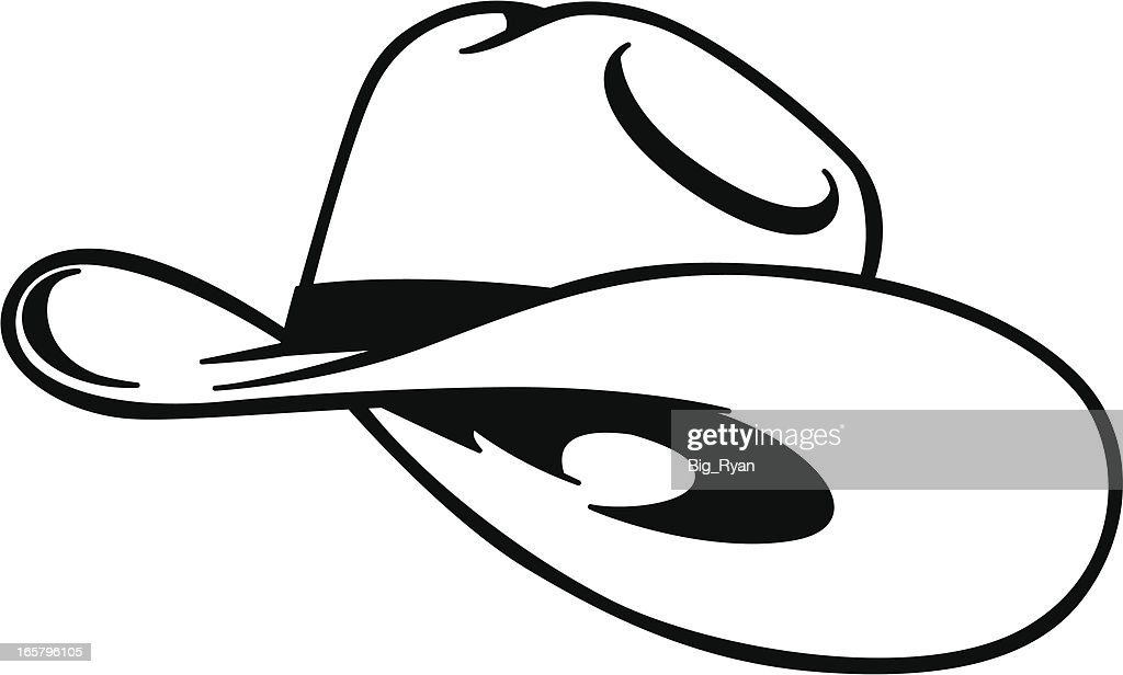 eacd9c7a555 Cowboy Hat Stock Illustrations And Cartoons