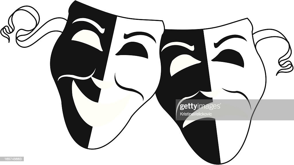 Simple Theater Masks