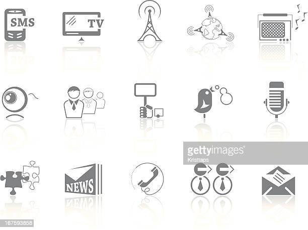 simplicity > communication & media - webcam media apparaat stock illustrations