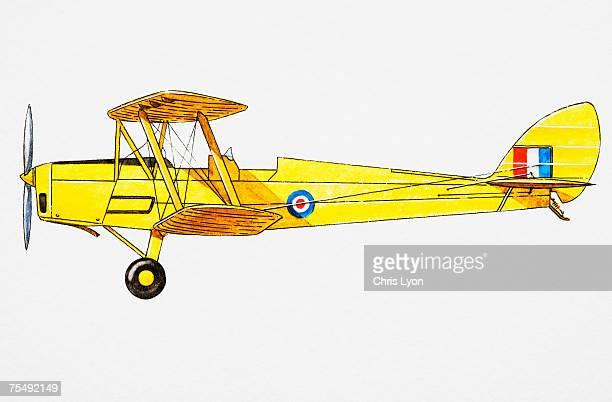 WWI single-seat biplane