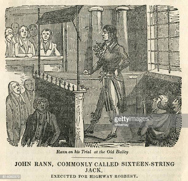 sixteen-string jack's trial - infamous stock illustrations, clip art, cartoons, & icons