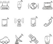 Sketch Icons - Wireless