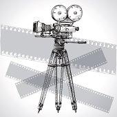 Sketched Movie Camera
