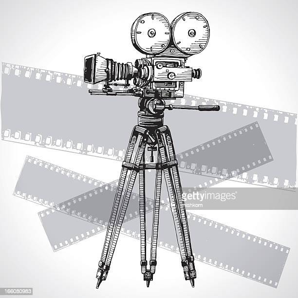 Sketched Movie Camera
