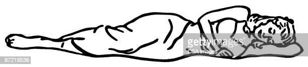 illustrations, cliparts, dessins animés et icônes de sleep - être étendu