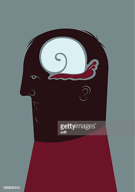 illustrations, cliparts, dessins animés et icônes de lentement penser - mou