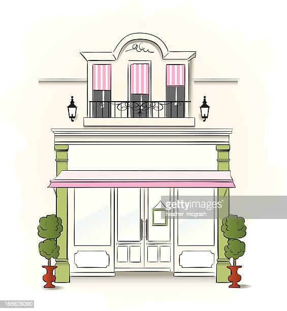 small store - boutique stock illustrations, clip art, cartoons, & icons