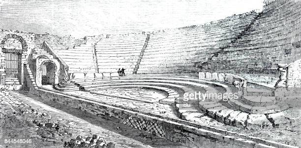 Small theatre in pompeii