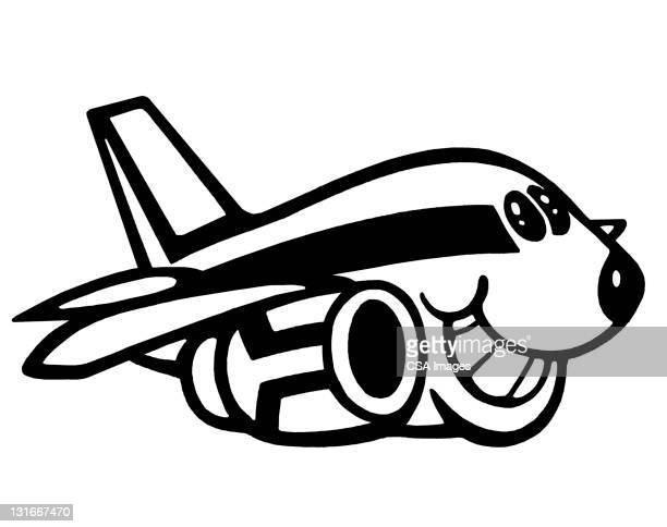 Smiling Airplane