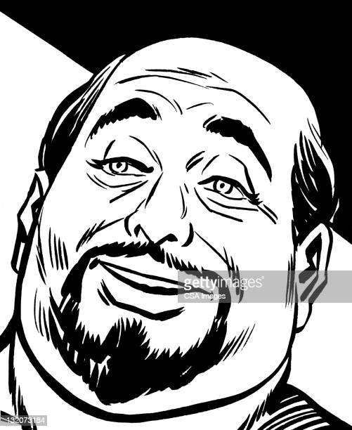 Smiling Bald Man With Goatee