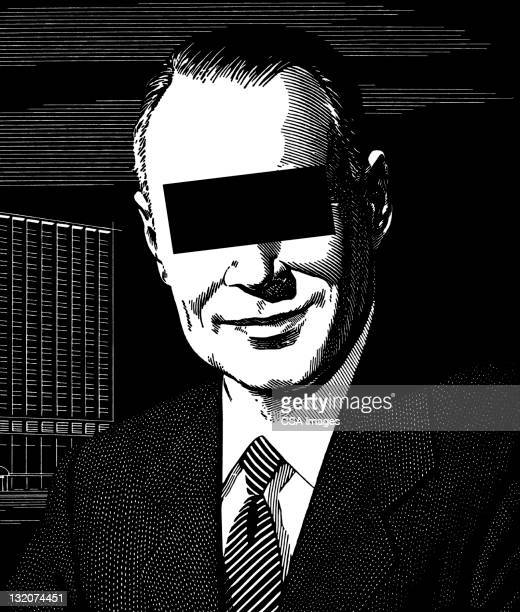 smiling man - blinds stock illustrations, clip art, cartoons, & icons
