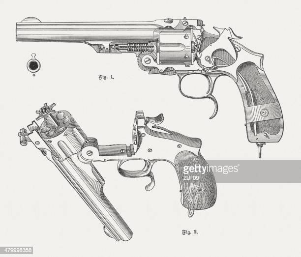 Smith and Wesson revolver, published in 1880