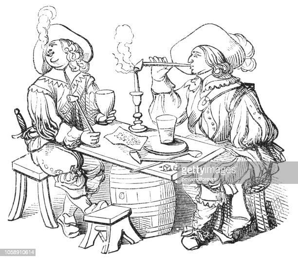 Smoking in France (17th Century)