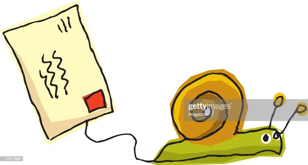 snail mail : Illustration