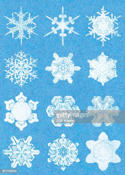 snowflakes - 雪の結晶点のイラスト素材/クリップアート素材/マンガ素材/アイコン素材