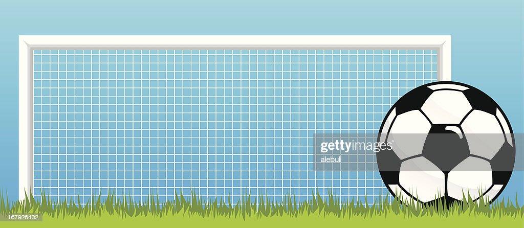 soccer background : Stockillustraties